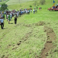 Unfallrisiken auf Engerlingswiesen im Berggebiet